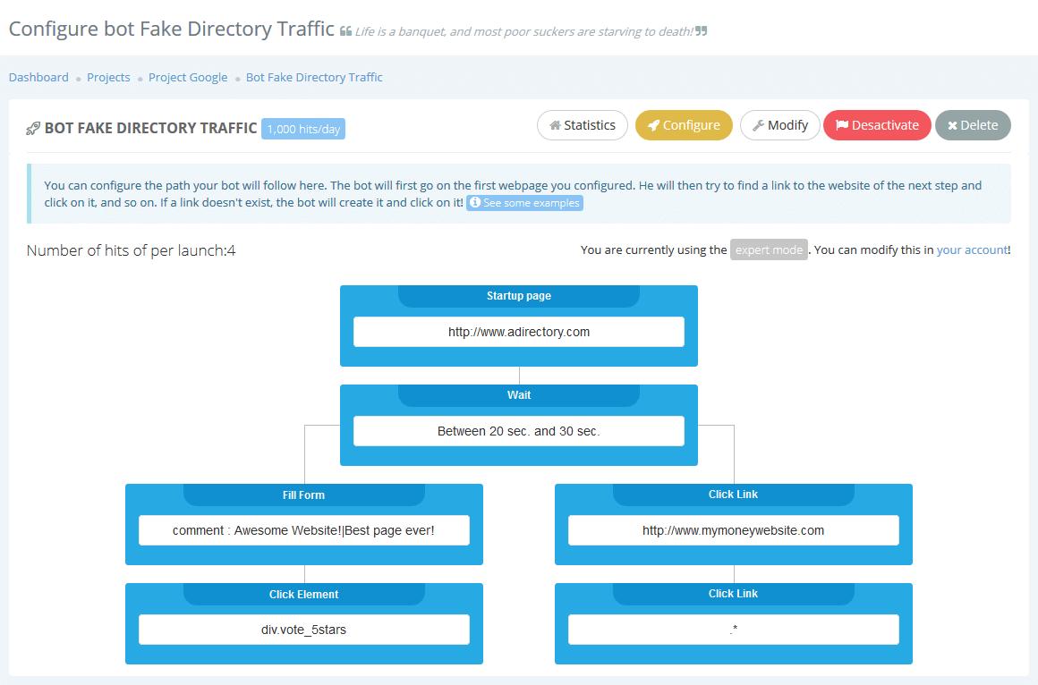 Configure a new bot